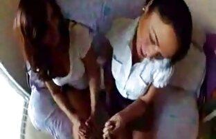 18 سال, دخترانه Capella داستان سکسی با خاله جوان cums با dildo